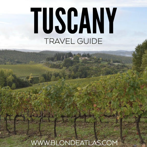 TUSCANY TRAVEL GUIDE