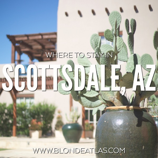 where to stay in scottsdale arizona