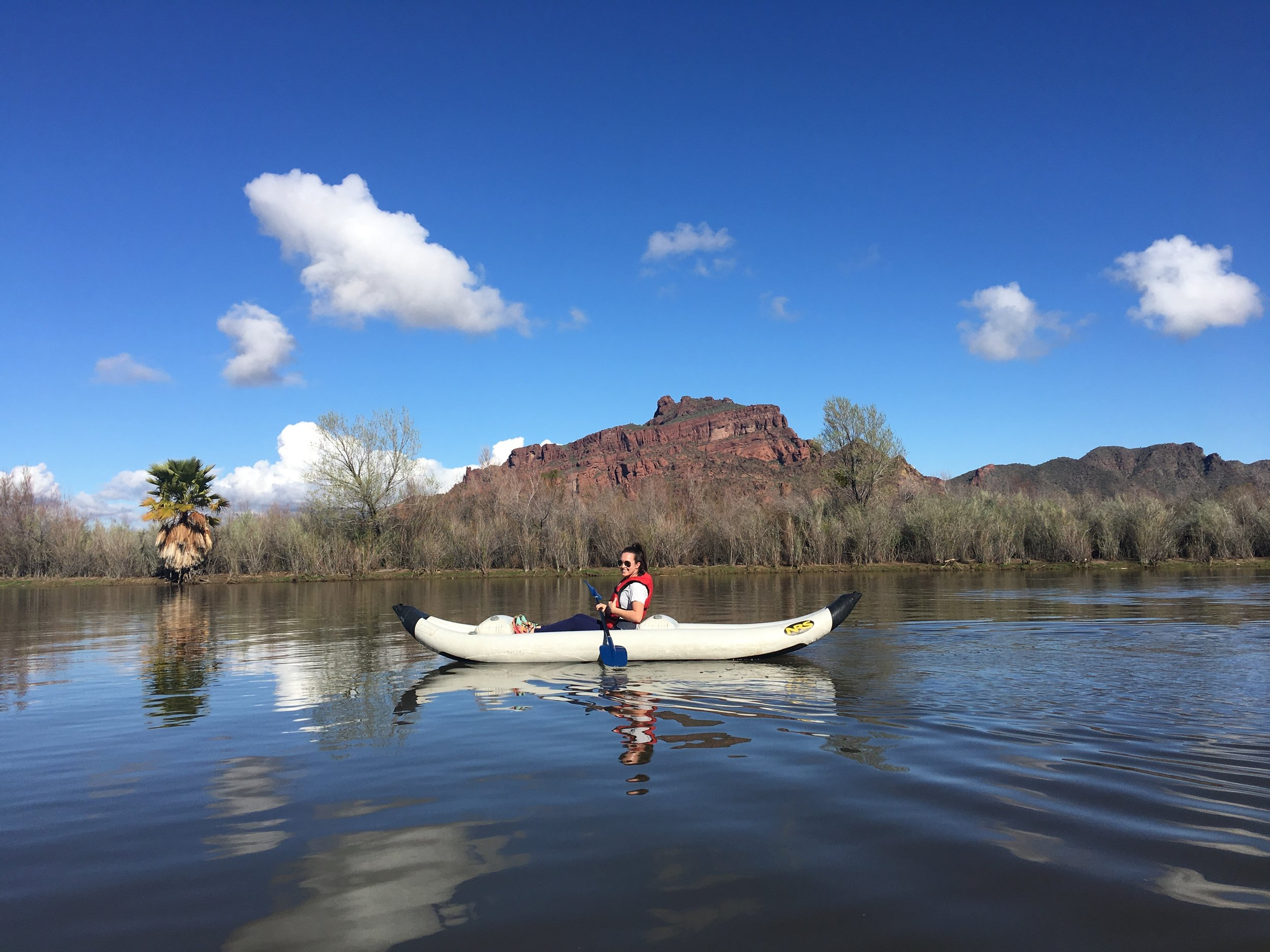 kayaking salt river scottsdale arizona