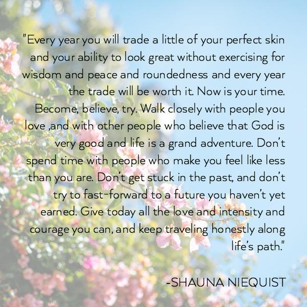 on becoming shauna niequist