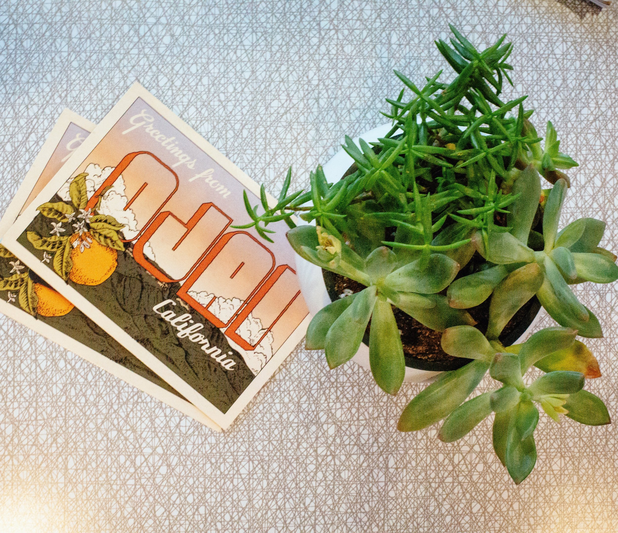 greetings from ojai california