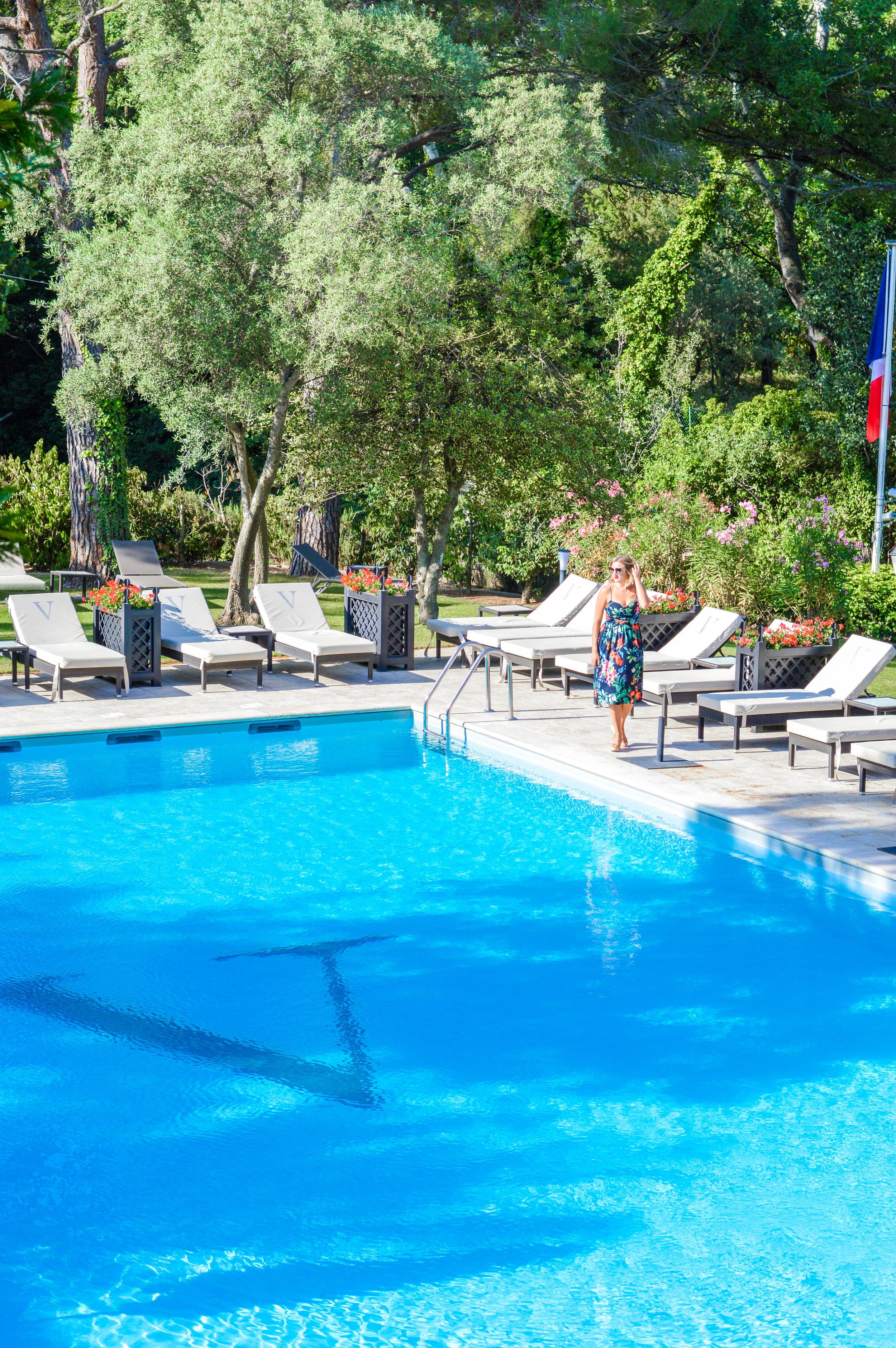 Hotel Le Vallon de Valruges and Spa