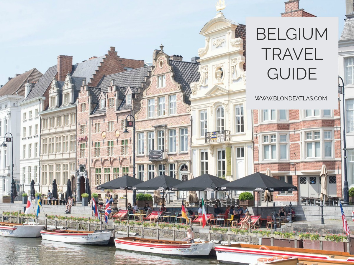 belgium travel guide blonde atlas