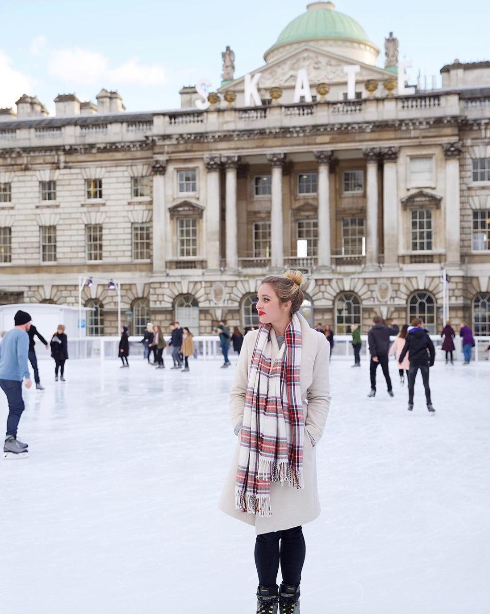 somerset house ice skating london christmas