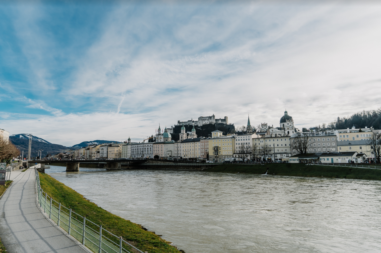 Salzach River (view from Hotel Sacher Salzburg)