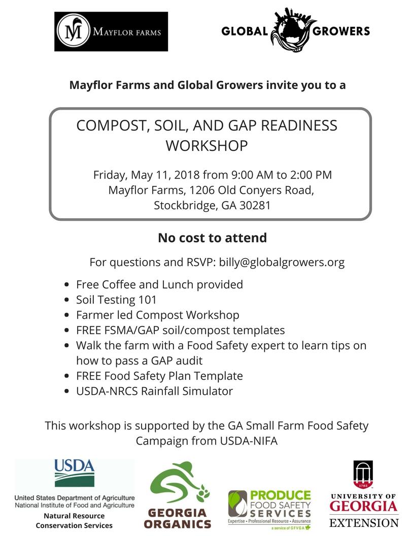 Mayflor Farm and Global Growers workshop