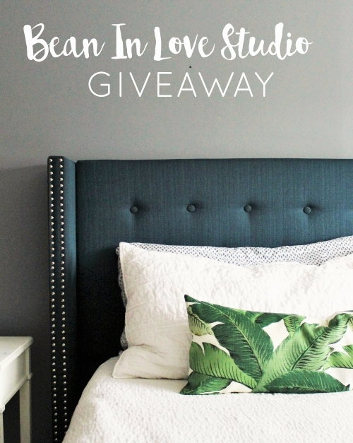 Master bedroom.... and pillow giveaway