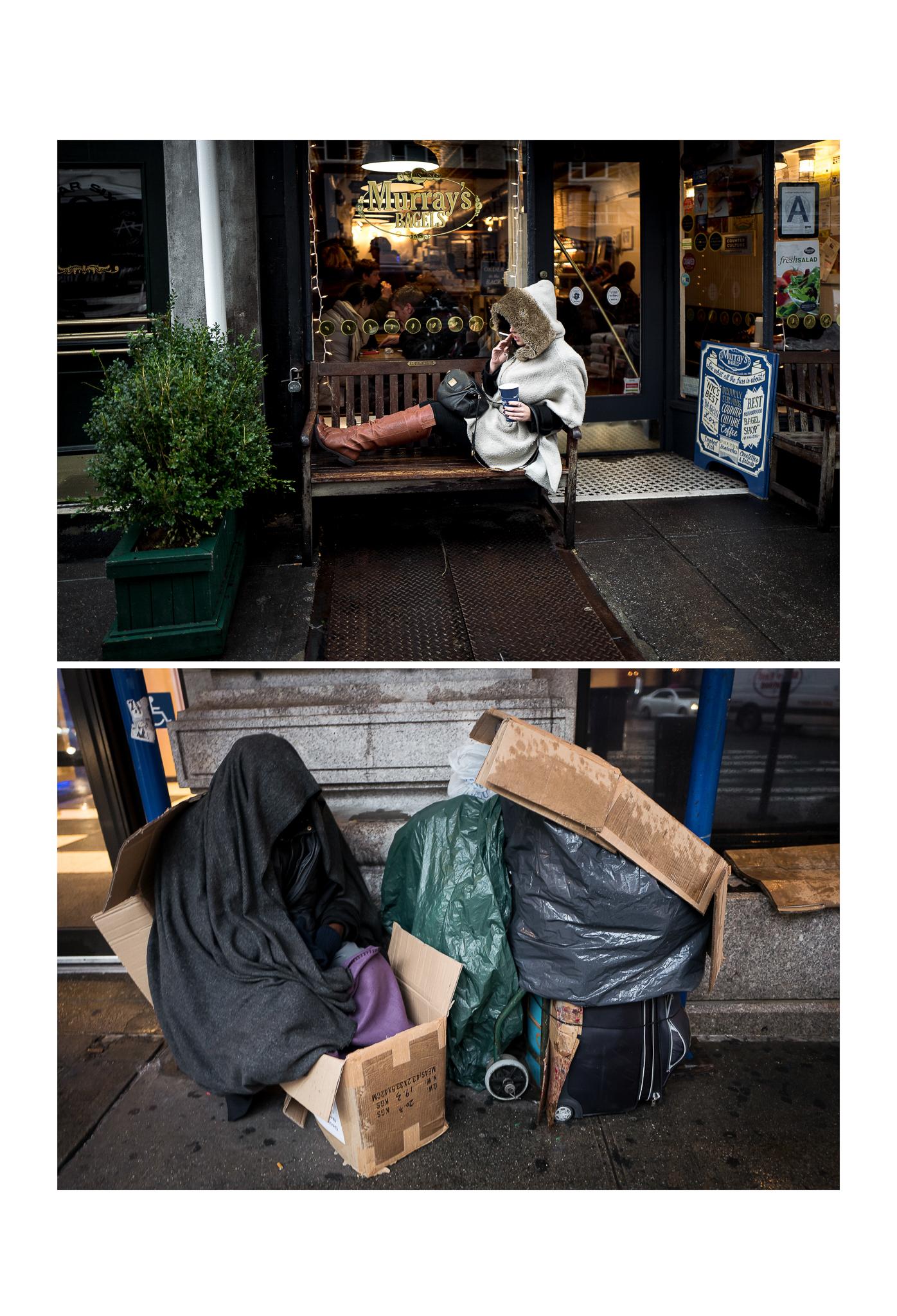 """Joseph Pizzuto, """"dichotomy part 1, new york city 2015"""""""