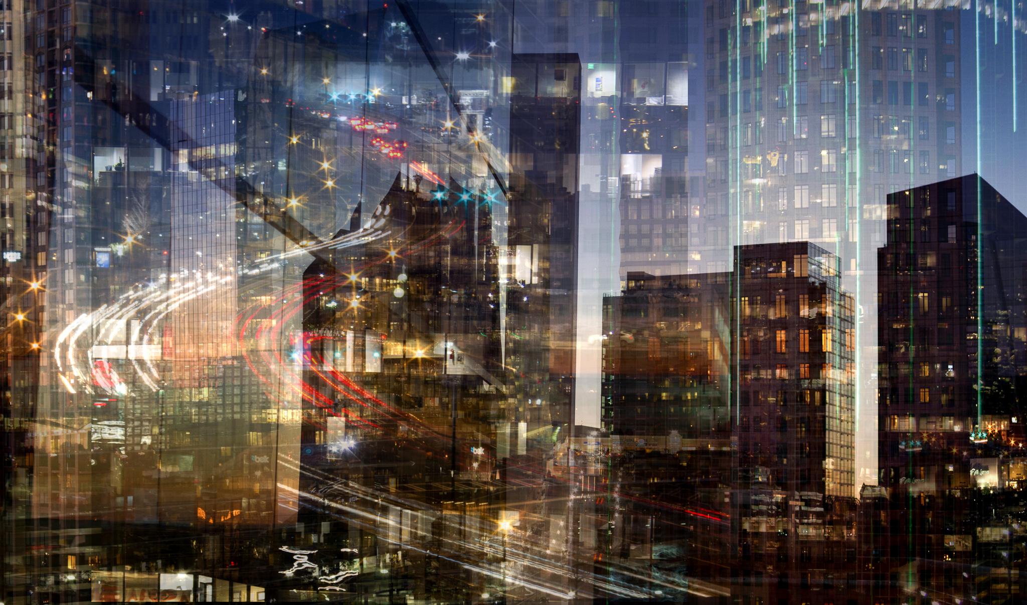 "Richard Skoonberg, ""City at Dusk"""