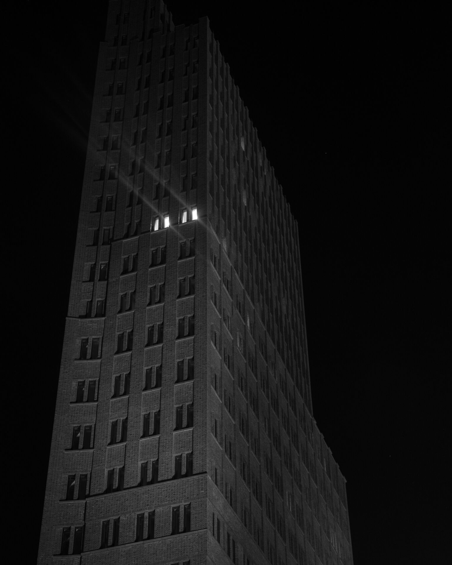 """Building At Night"""
