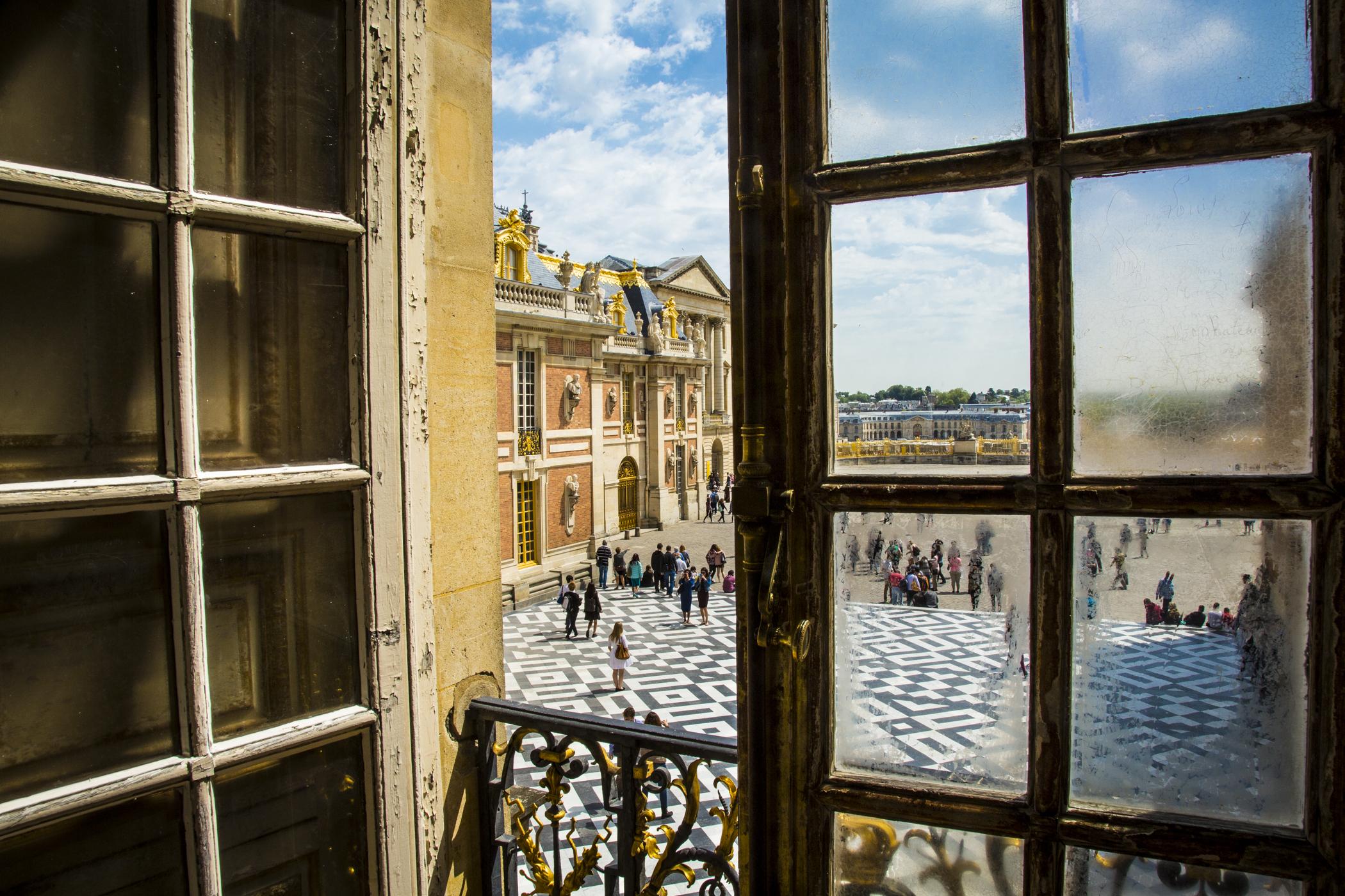 """Through the King's Window, Versailles, France"" Judith Pishnery"