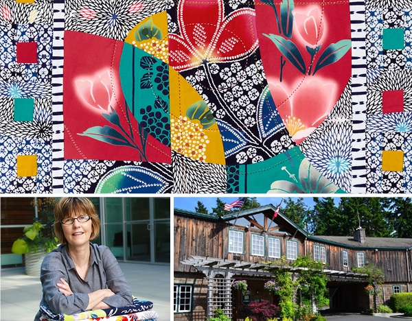 Pictures from  Okan Arts  website (these photos accompany an announcement about an upcoming quilting workshop Patricia is leading)