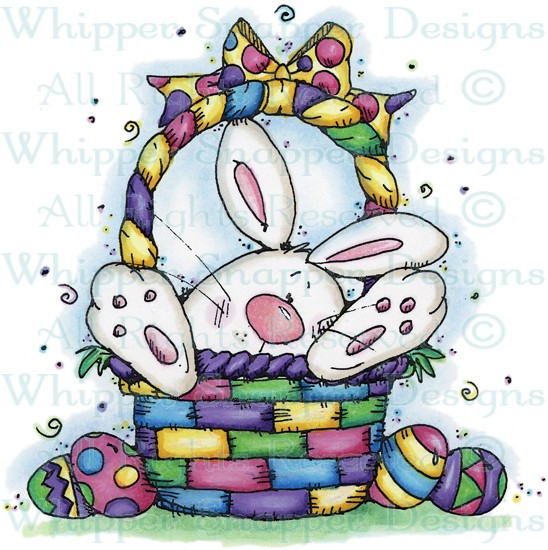 """Easter Bunny Basket"" by Whipper Snapper Designs"