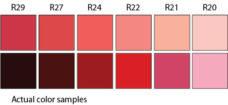 Color Samples vs Copic R20 Family | VanillaArts.com | #copic #coloredpencil #howtocolor