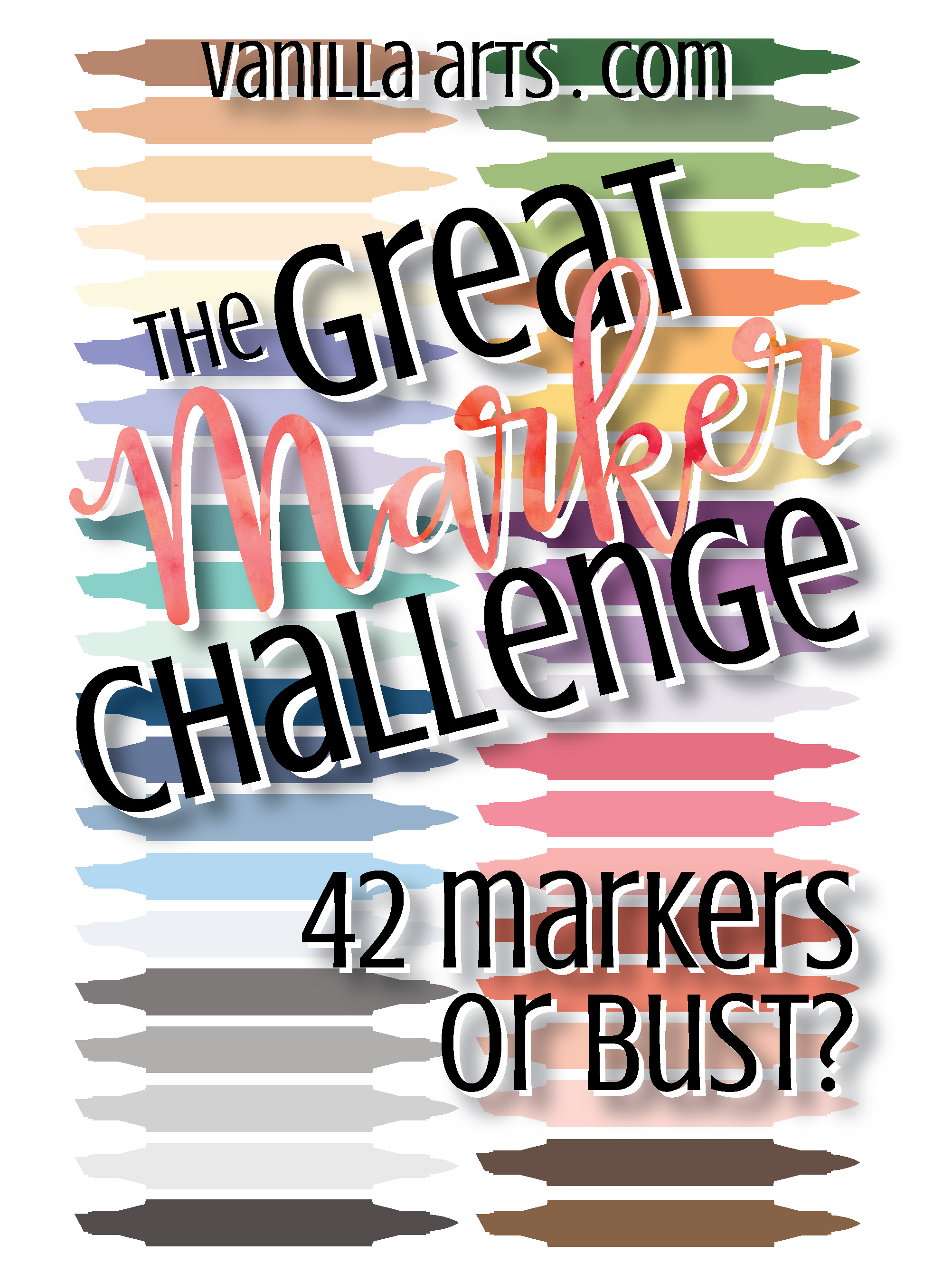Take the Great Marker Challenge! 42? | VanillaArts.com