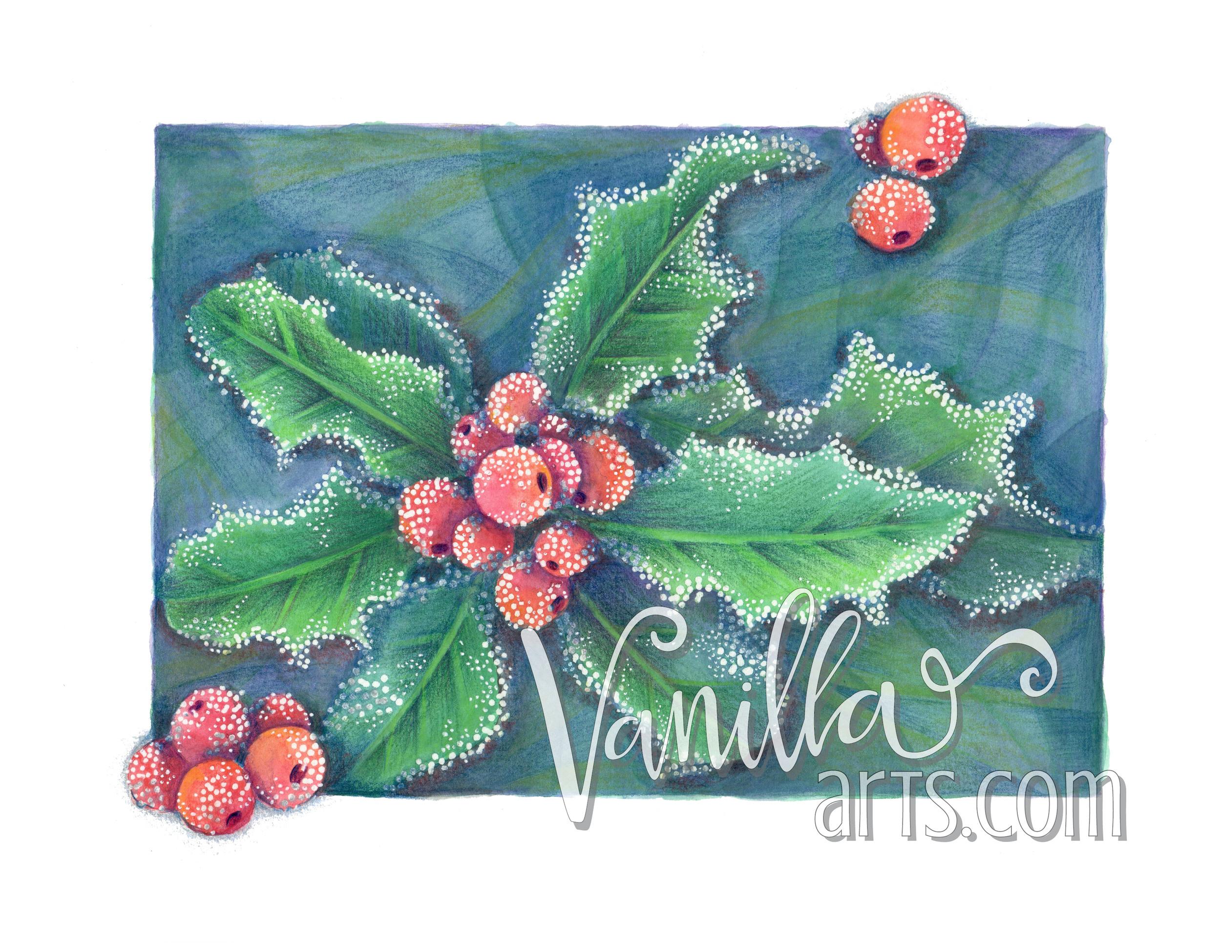 November- Intro to Watercolor Pencils   VanillaArts.com