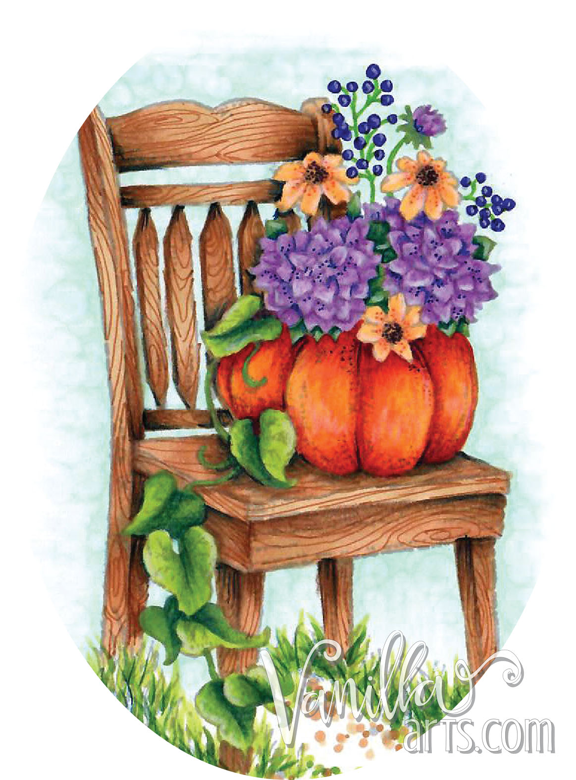 """So Grateful"" Chair, a lesson in composition and focus in still life images 