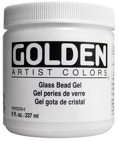 10 Gift Ideas for a Mixed Media Lover- Glass Bead Gel, so much fun, so many effects. | VanillaArts.com