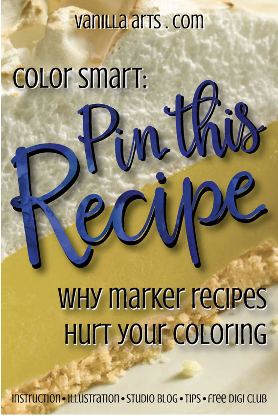 Why Copic Marker Recipes Hurt your Coloring