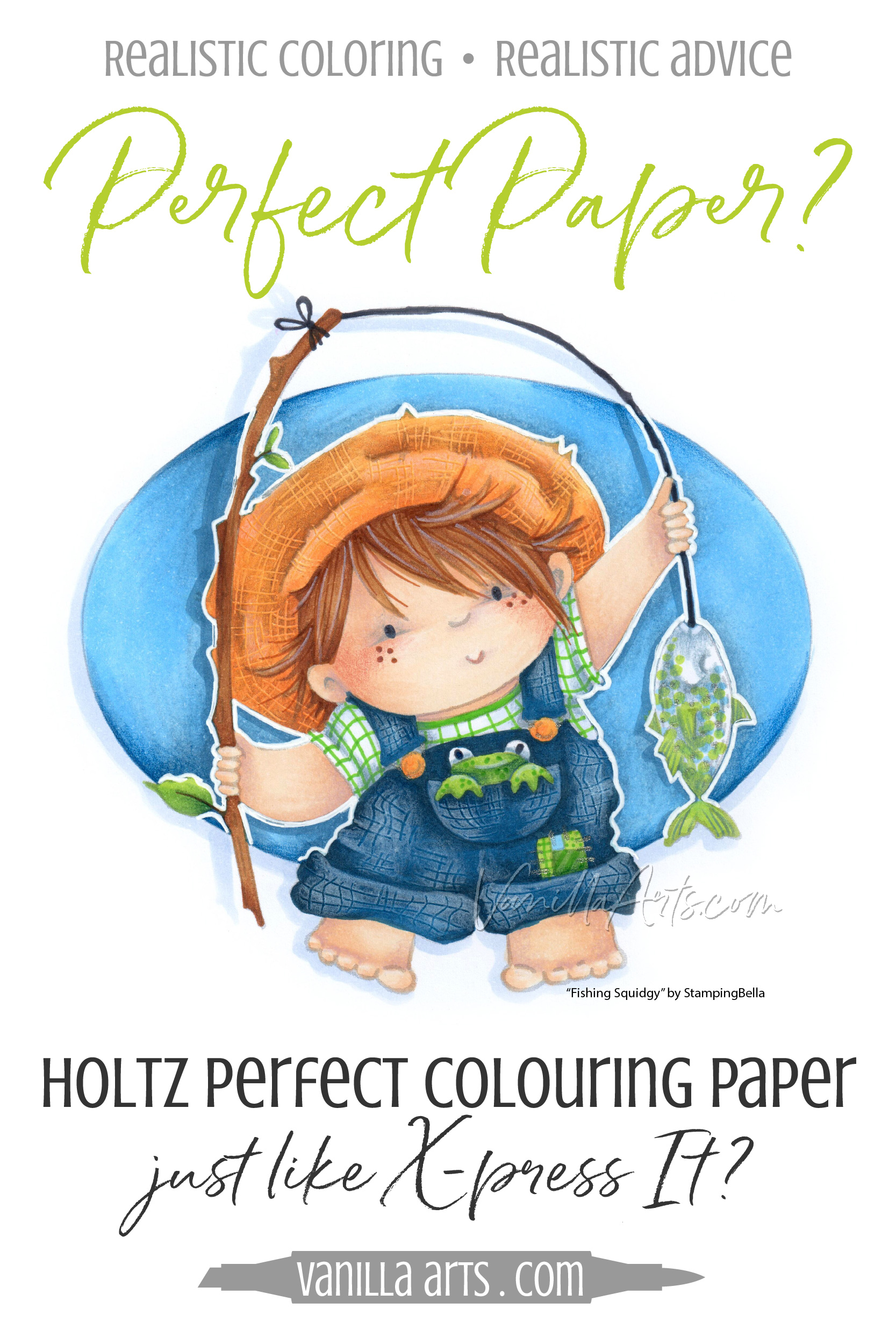 Holtz Perfect Colouring Paper: Is it Really Perfect for ...