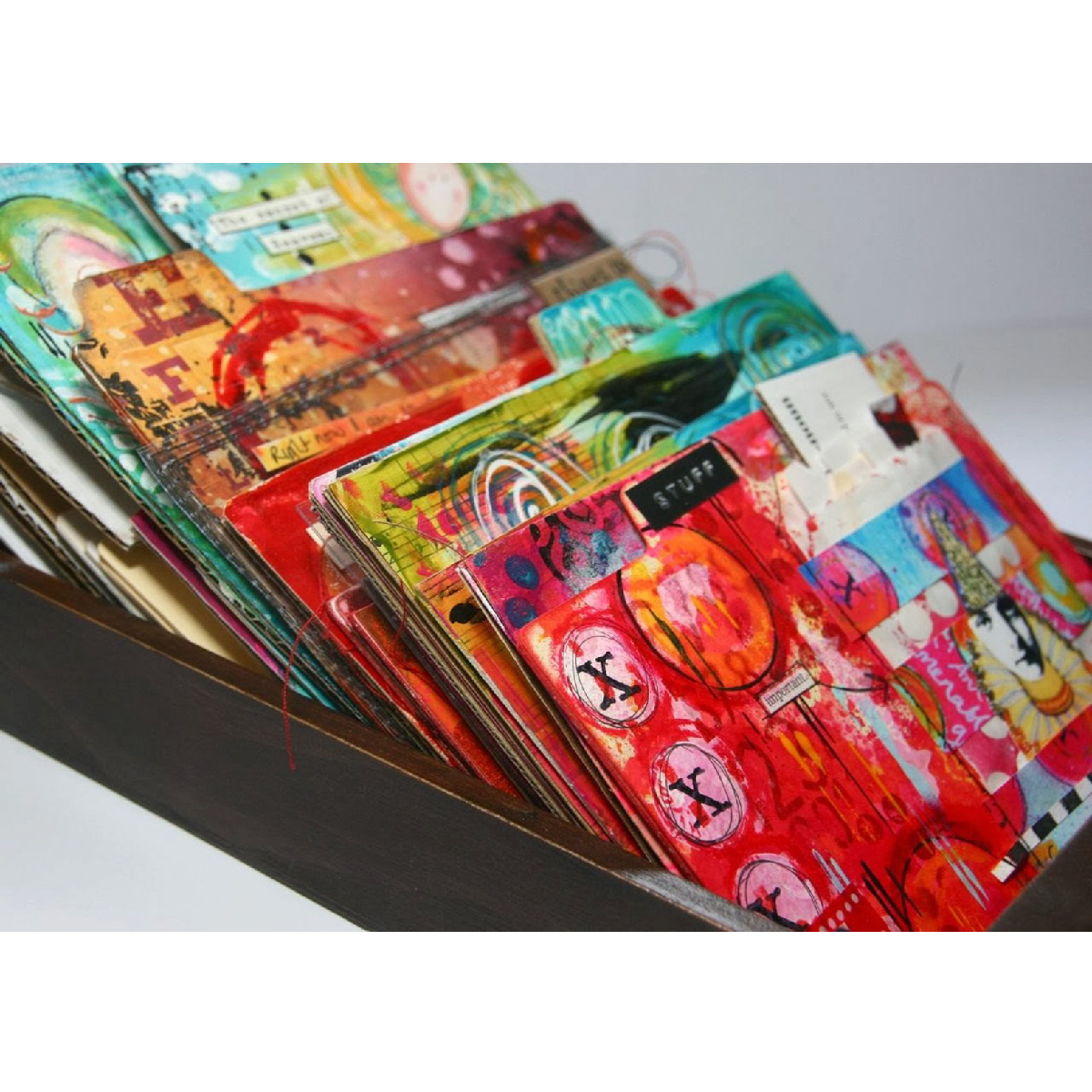 10 Gift Ideas for a Mixed Media Lovers - Journal Soup by Kate Crane. | VanillaArts.com