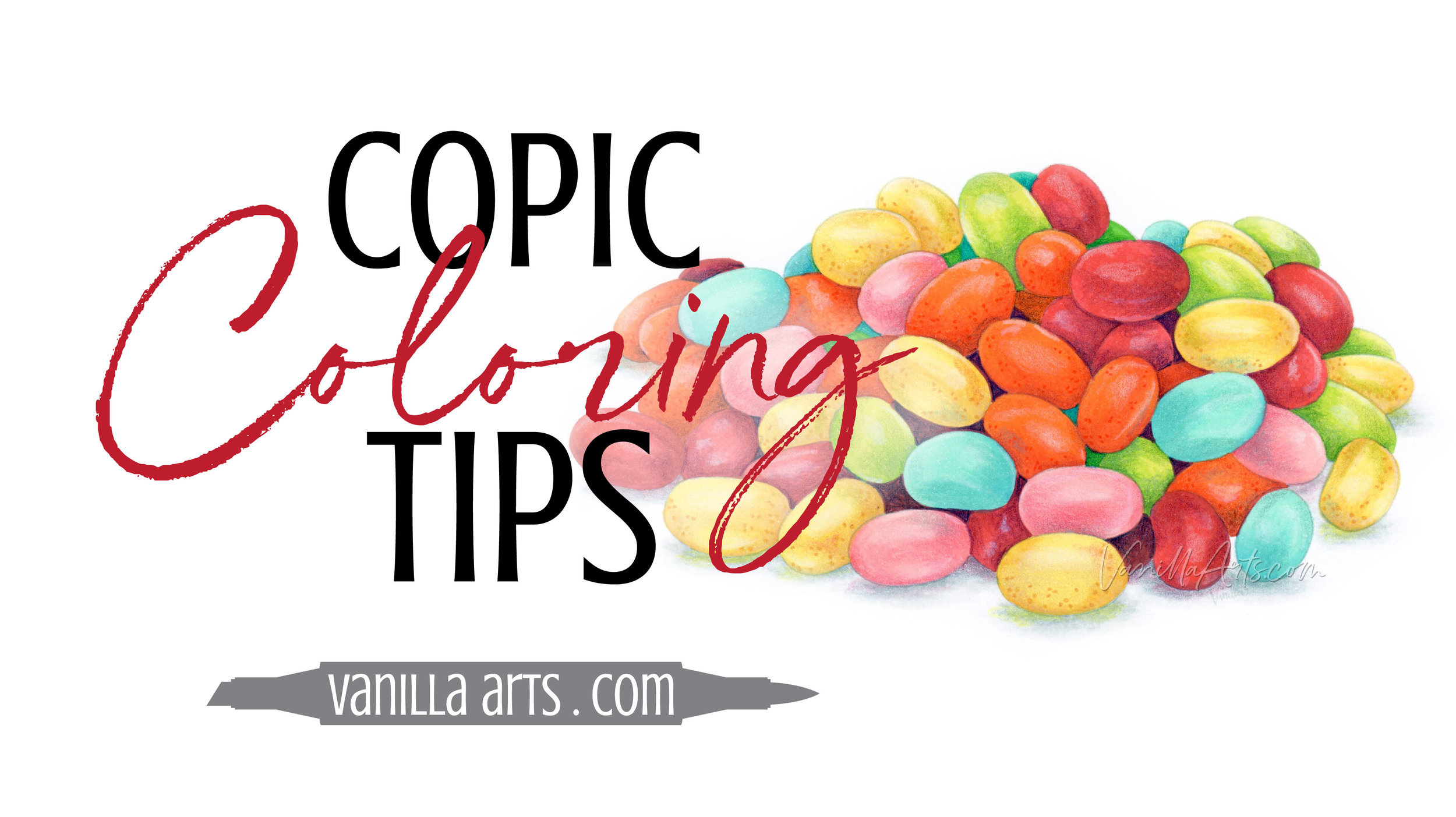 Learn how making a small change to your coloring process can give you greater artistry, a distinctive style, and a beautiful color voice. Coloring advice for adult colorers using Copic Markers and colored pencils. | VanillaArts.com | #copic #coloredpencil #coloring #artlessons #realisticcoloring