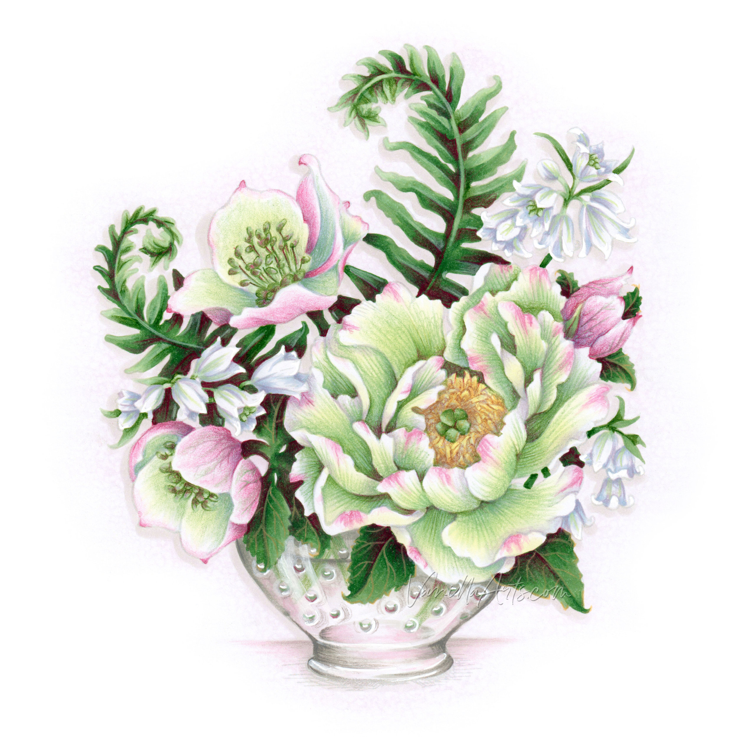May 2019: Verdant Spring by VanillaArts.com