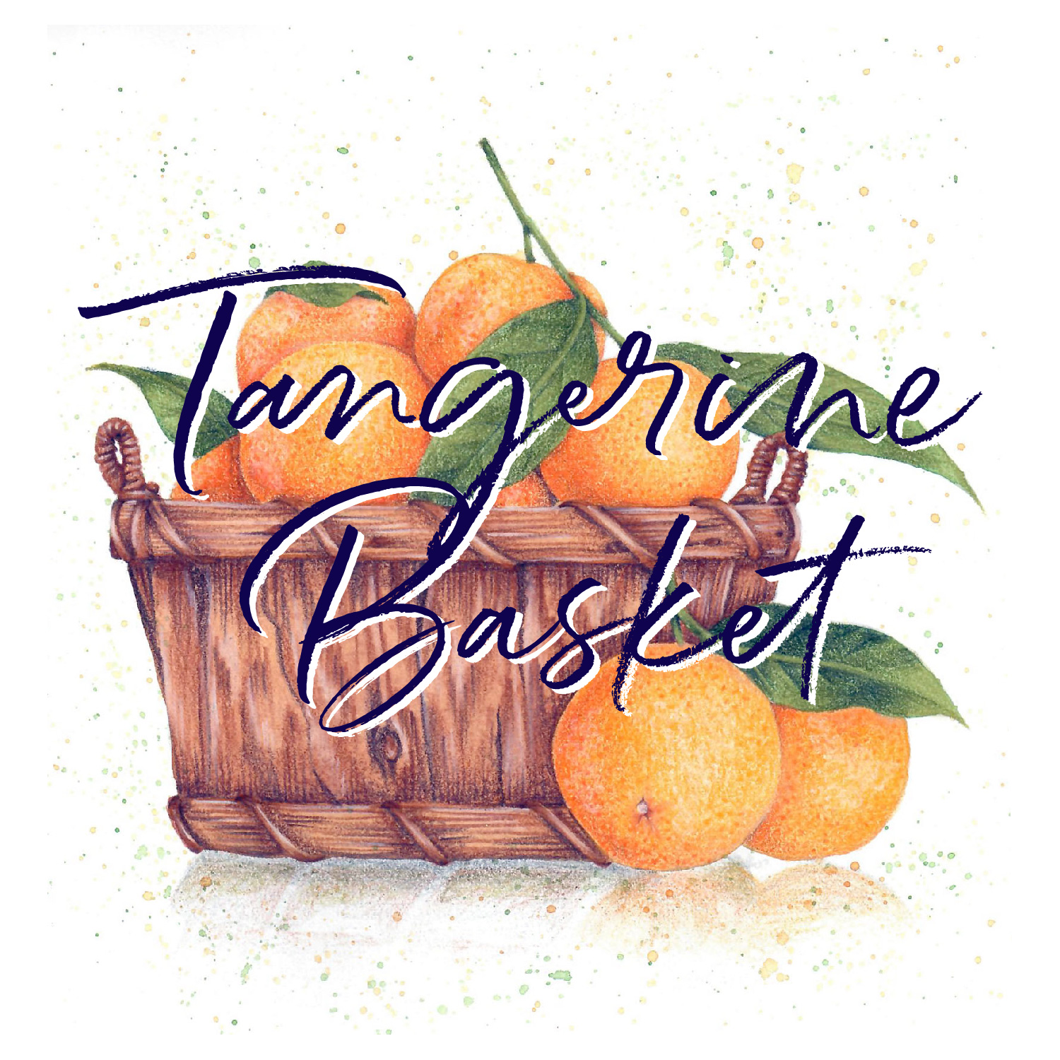 Tangerine Basket is an intermediate/advanced level VanillaArts.com Digital Stamp & Retreat Booklet.  It was originally colored in watercolor and colored pencil but is also perfect for Copic and other mediums.…your options are endless!