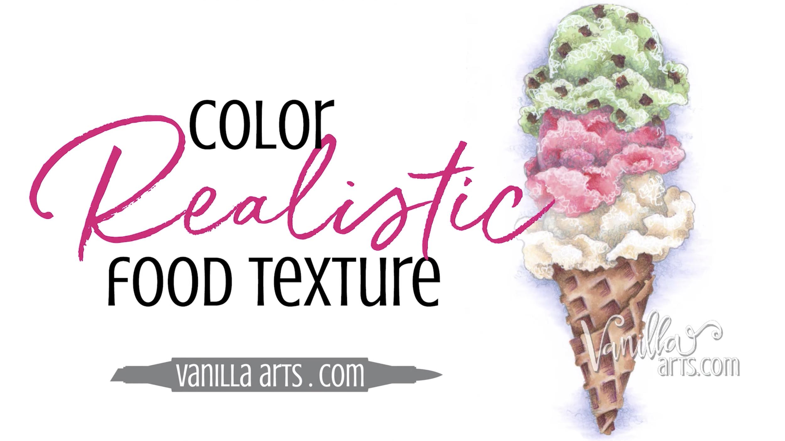 Create Realistic Food Texture   VanillaArts.com