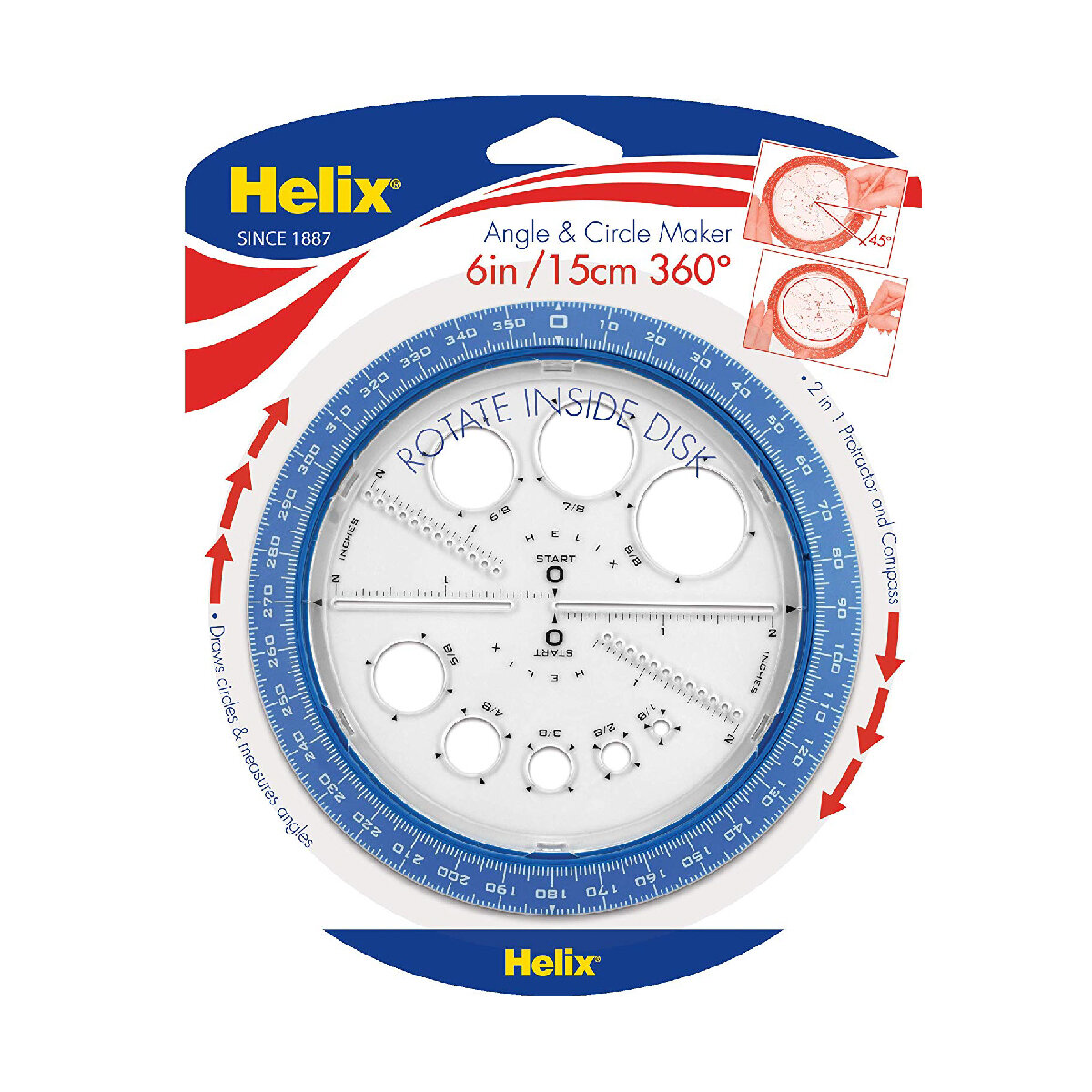 Helix Circle Template