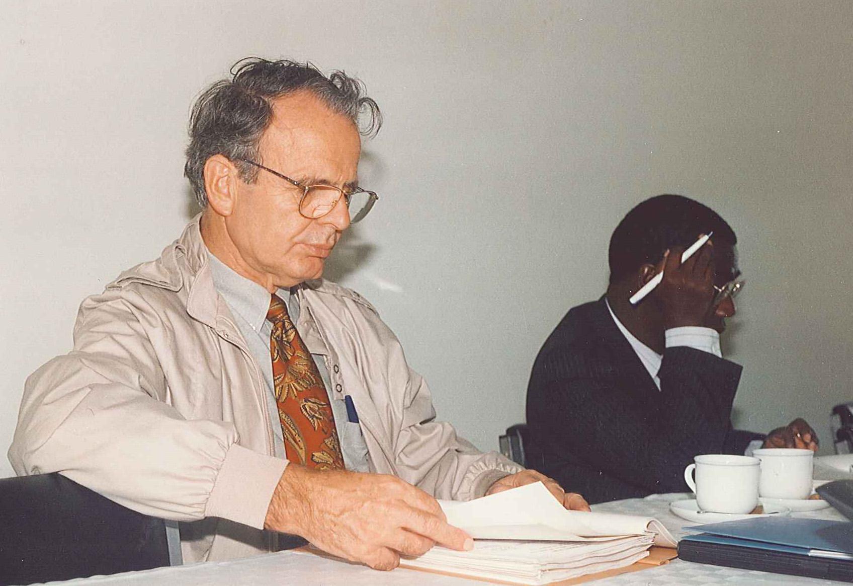 Daystar University Board Meeting, 1993