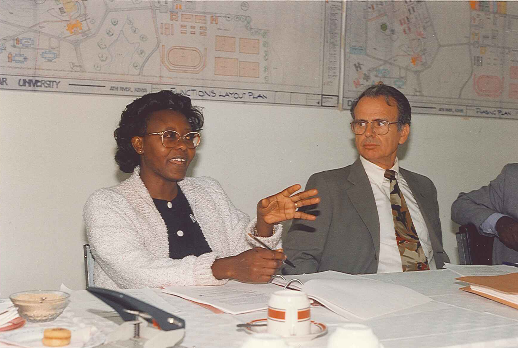Daystar University Board Meeting 1993