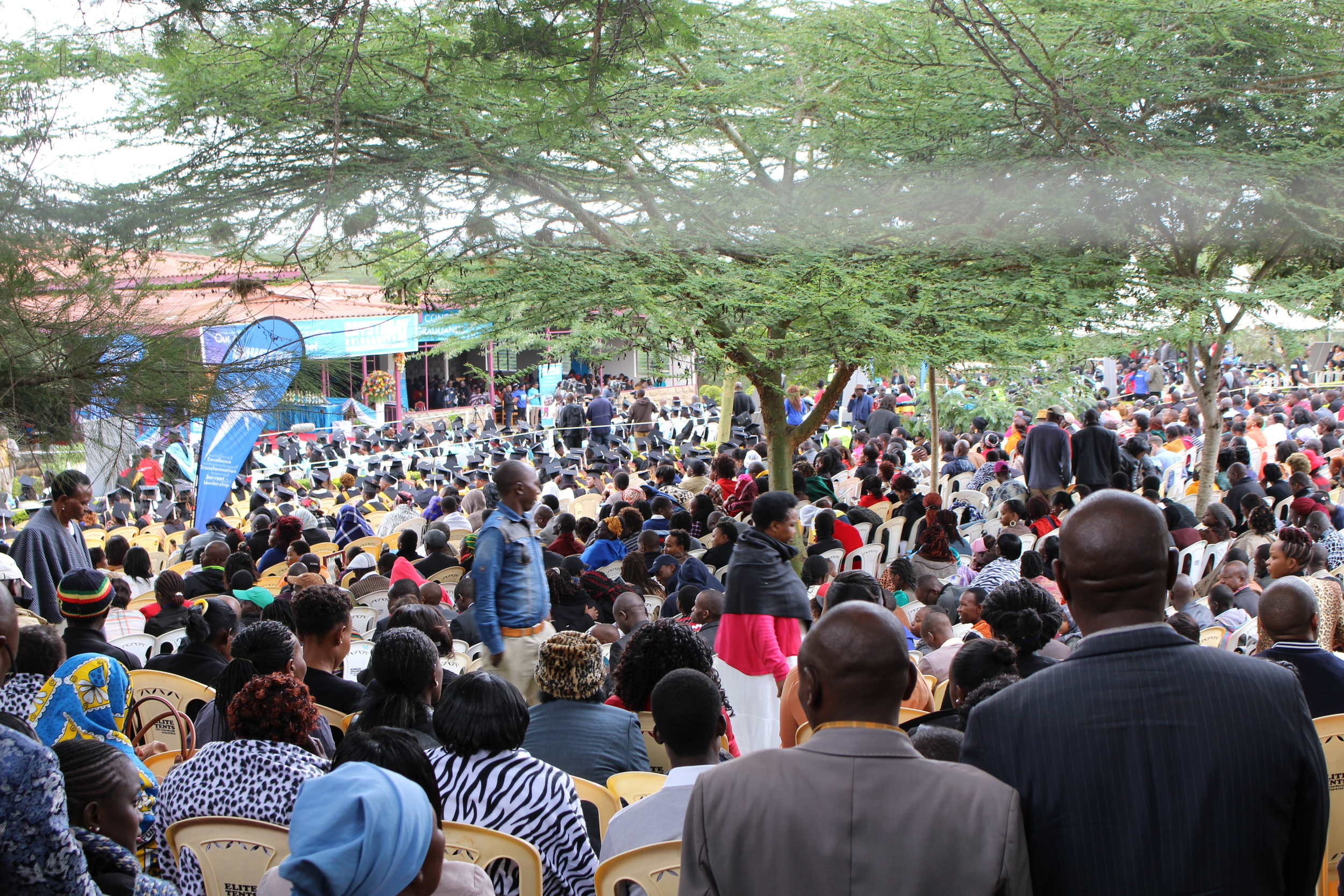 We attended the 2016 Daystar graduation ceremony where approximately 850 students graduated. The scope of the event was huge, with an estimated 10,000 people attending. It was beautiful to see whole villages celebrating the hard work and accomplishments of their graduate.