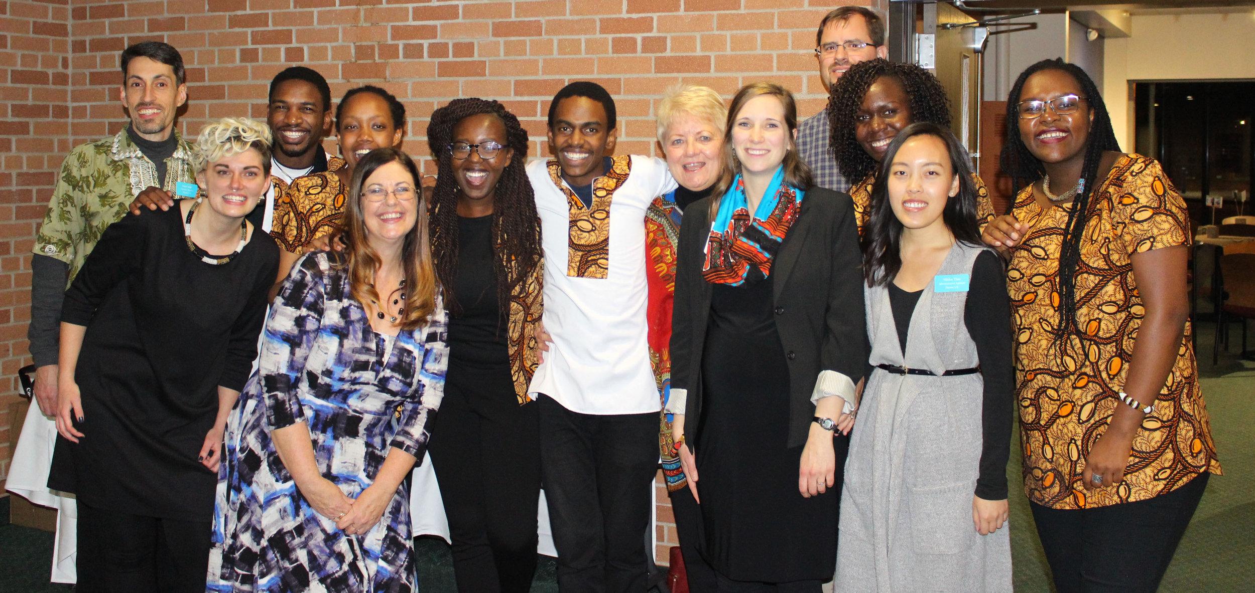 Daystar U.S. staff and the 2018 Afrizo team