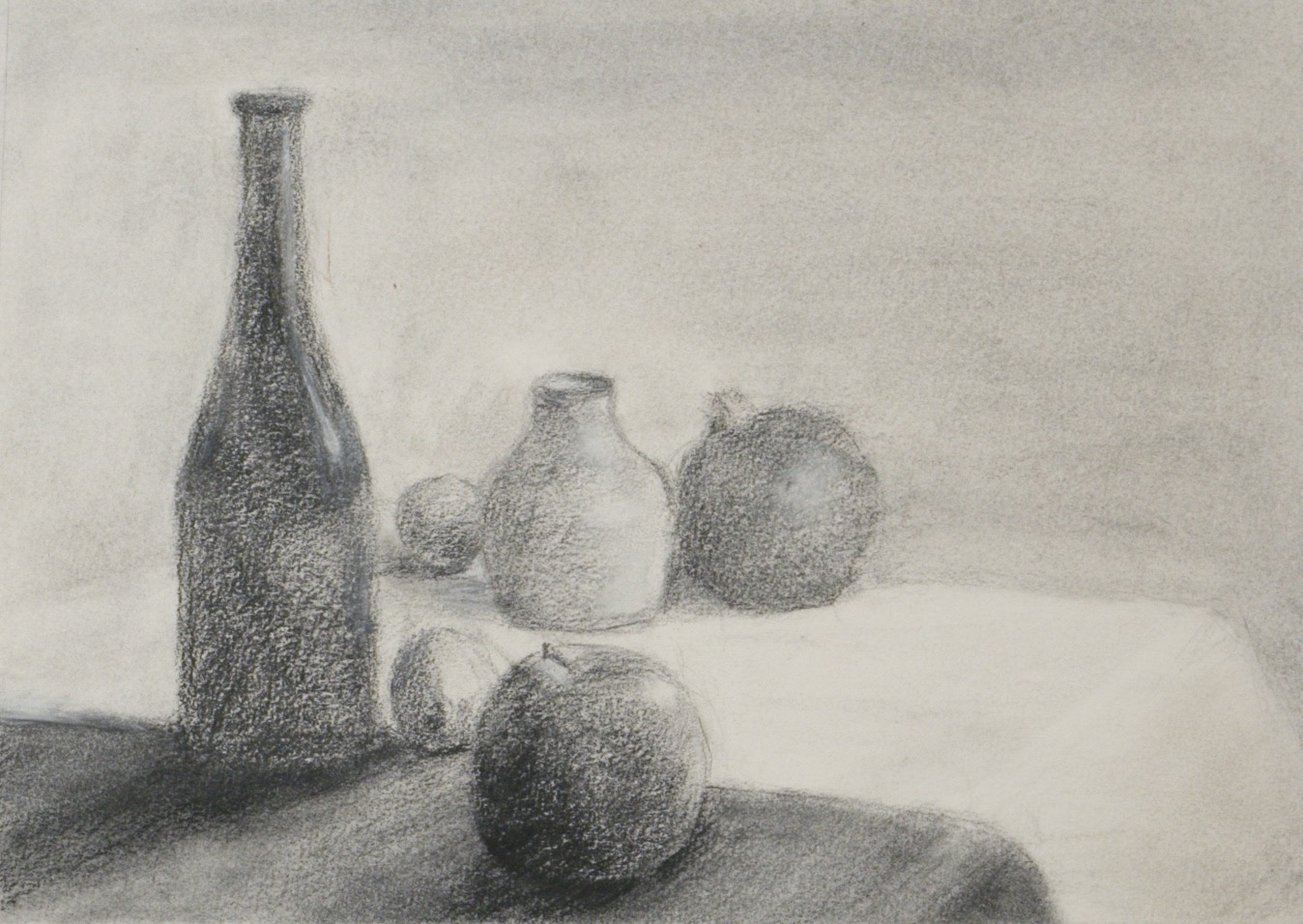 Bottles with Fruit