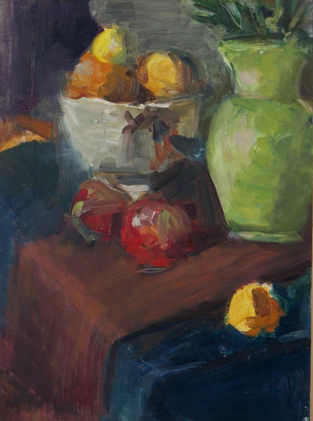 Still Life with Green Vase