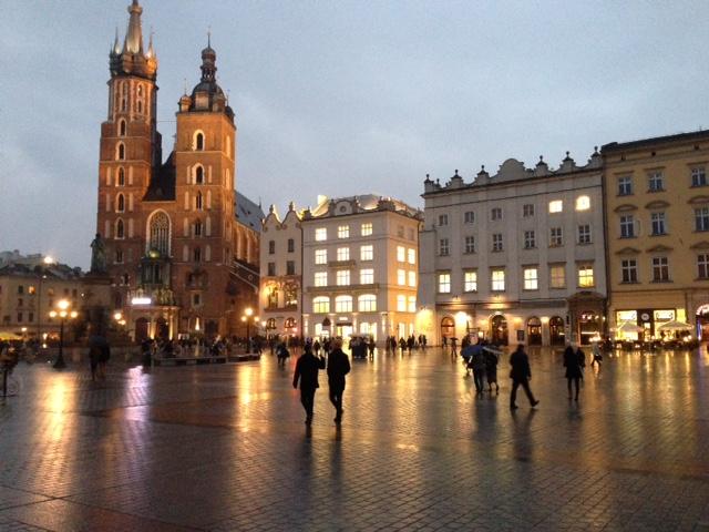 Kraków Poland_main square.JPG