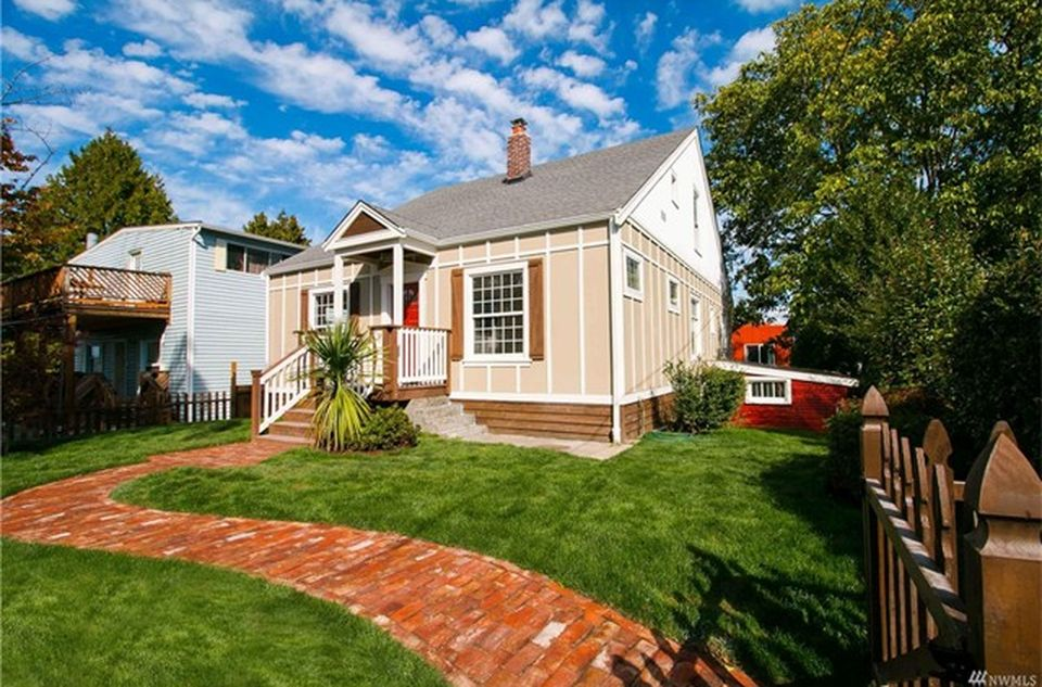1916 Craftsman home in Seattle restored with salvaged materials and high end finishes.
