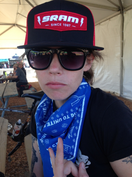 Showing my SRAM support!!!