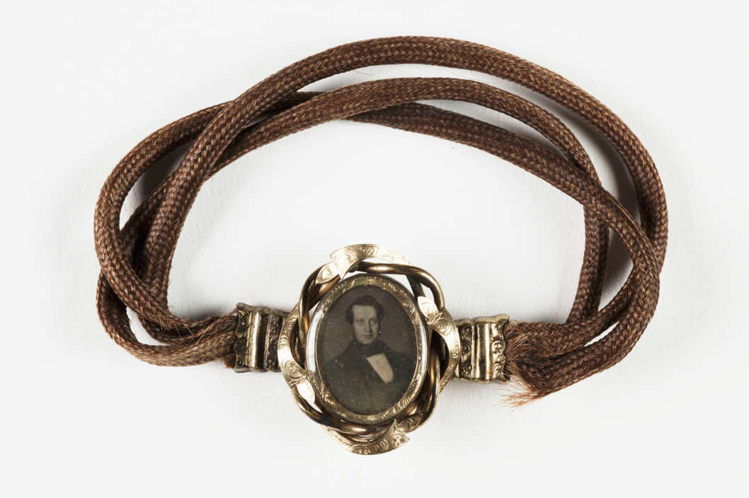 Victorian Mourning Hair Jewelry
