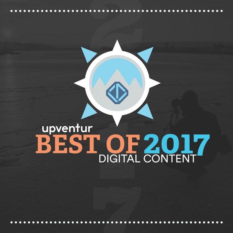 Case of the Nomads Named Best of 2017 Digital Content by Upventur - Upventur Best of 2017