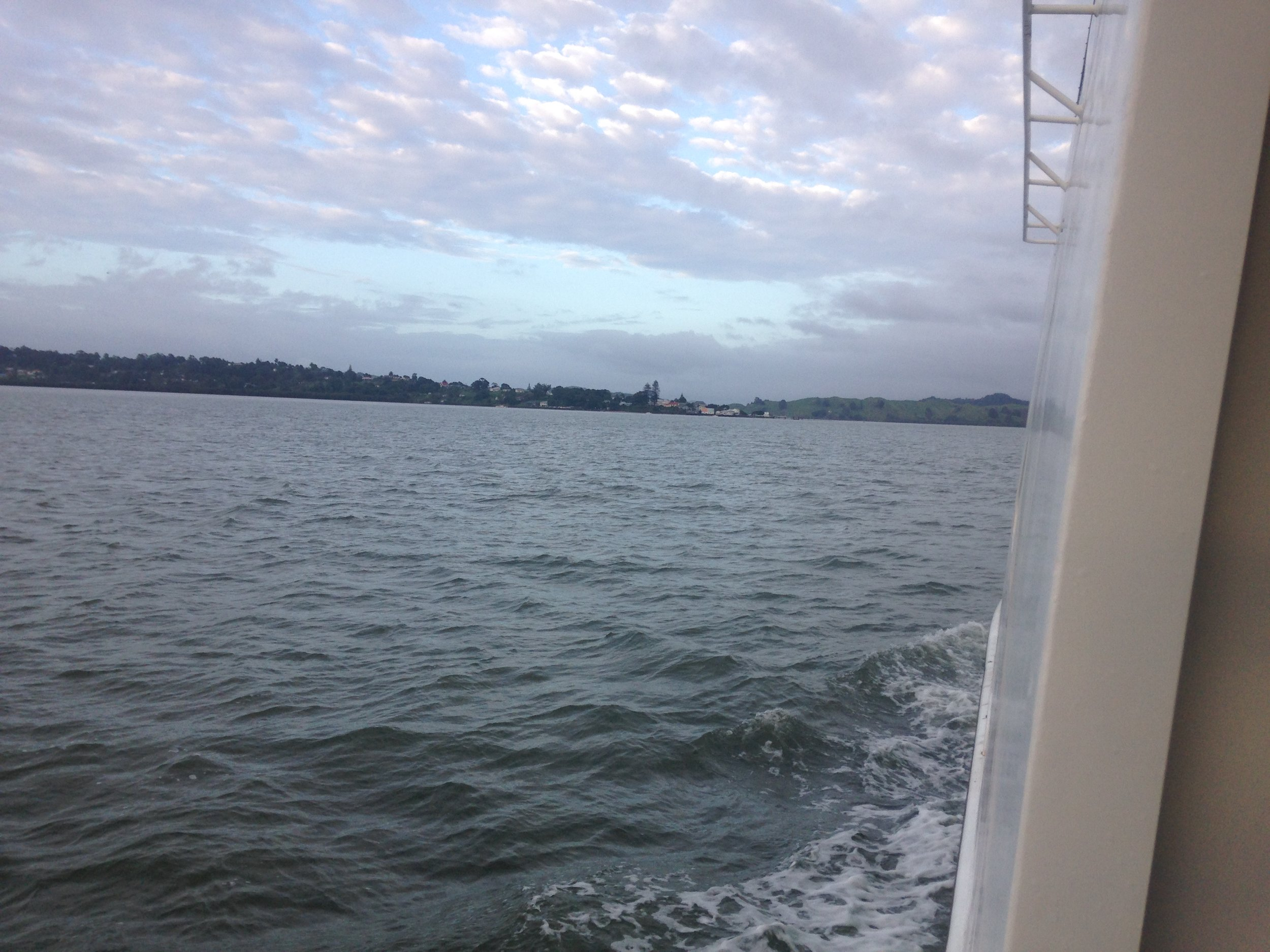 Ferry Ride to Rawene