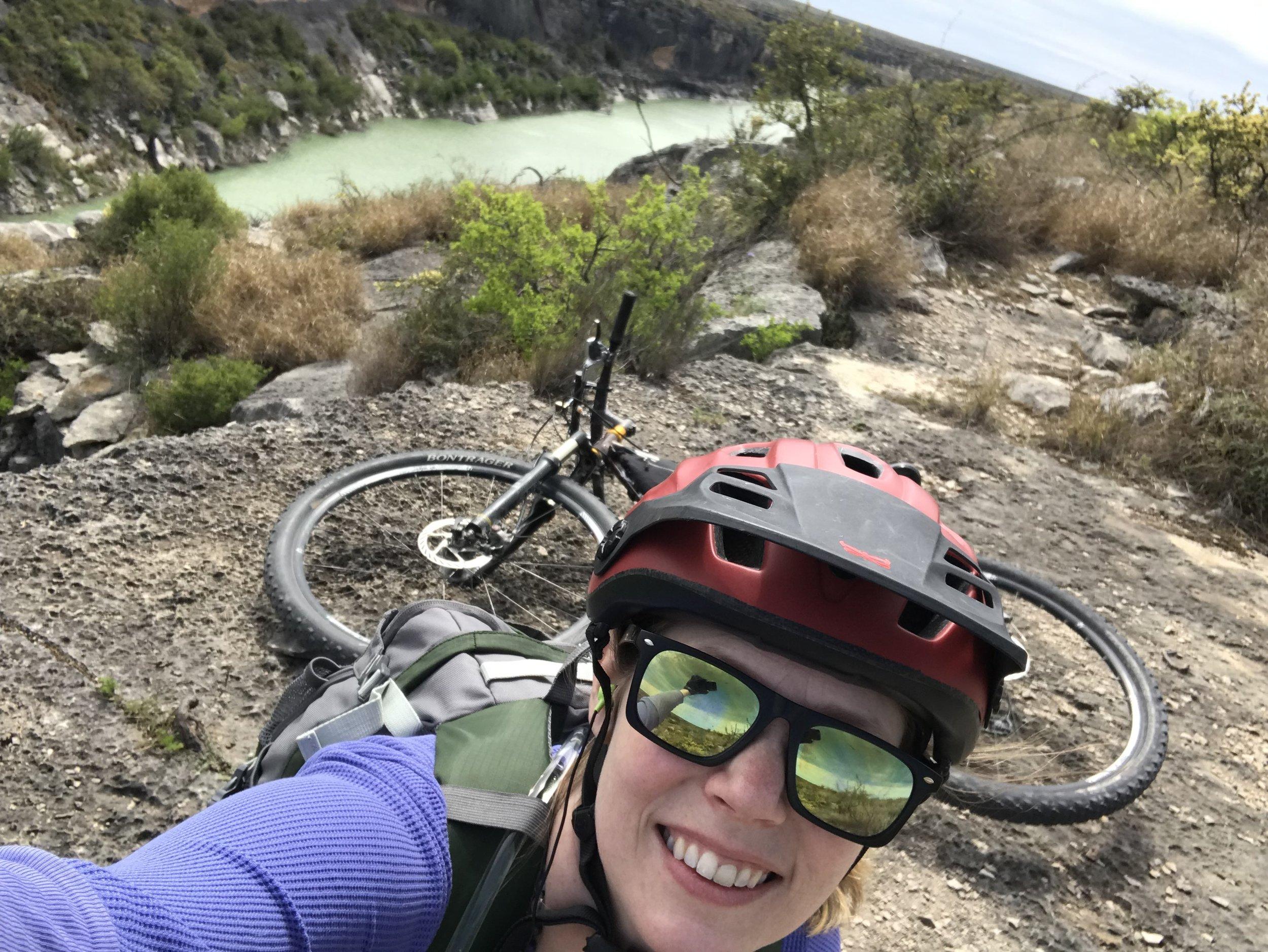 Rivers edge on the Canyon Rim Trail