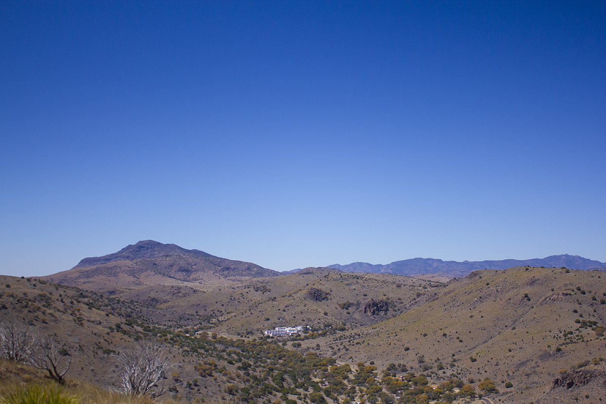 Mount Davis campground and historic Indian Lodge