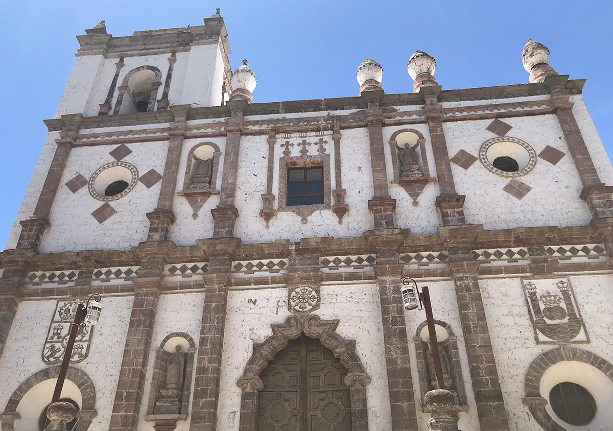 San Ignacio Mision front