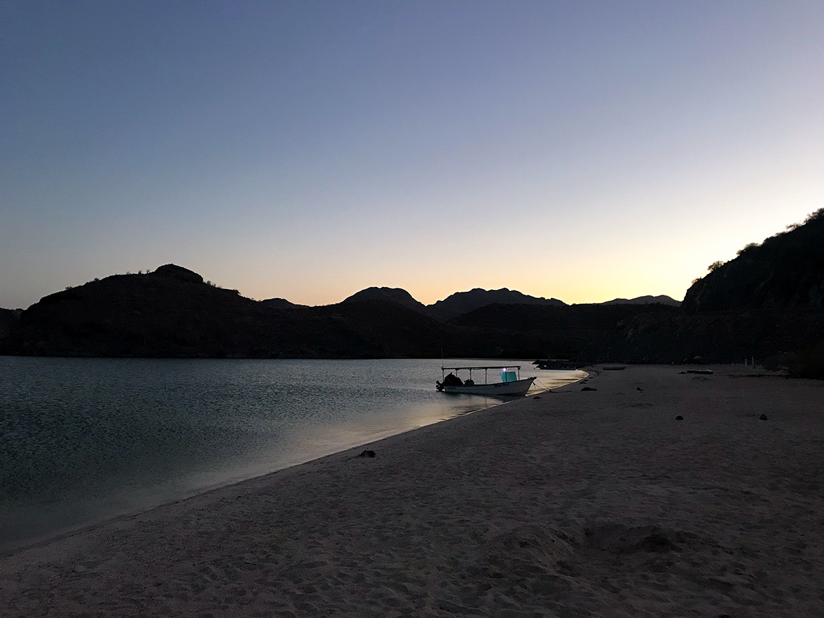 As the sun sets on another memorable day in the Baja.