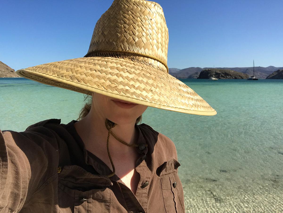 Perfect nomad selfie