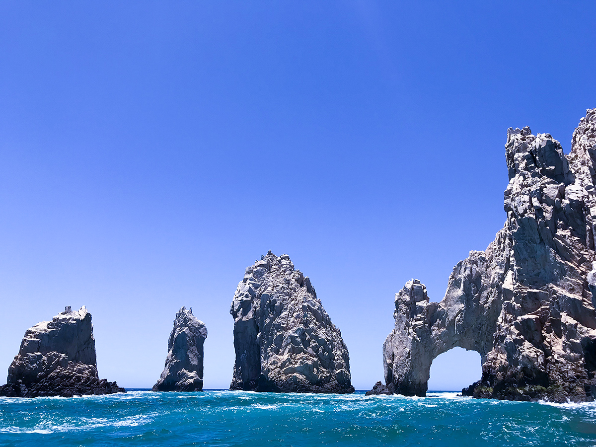 El Arco at the southern tip of the Baja California.