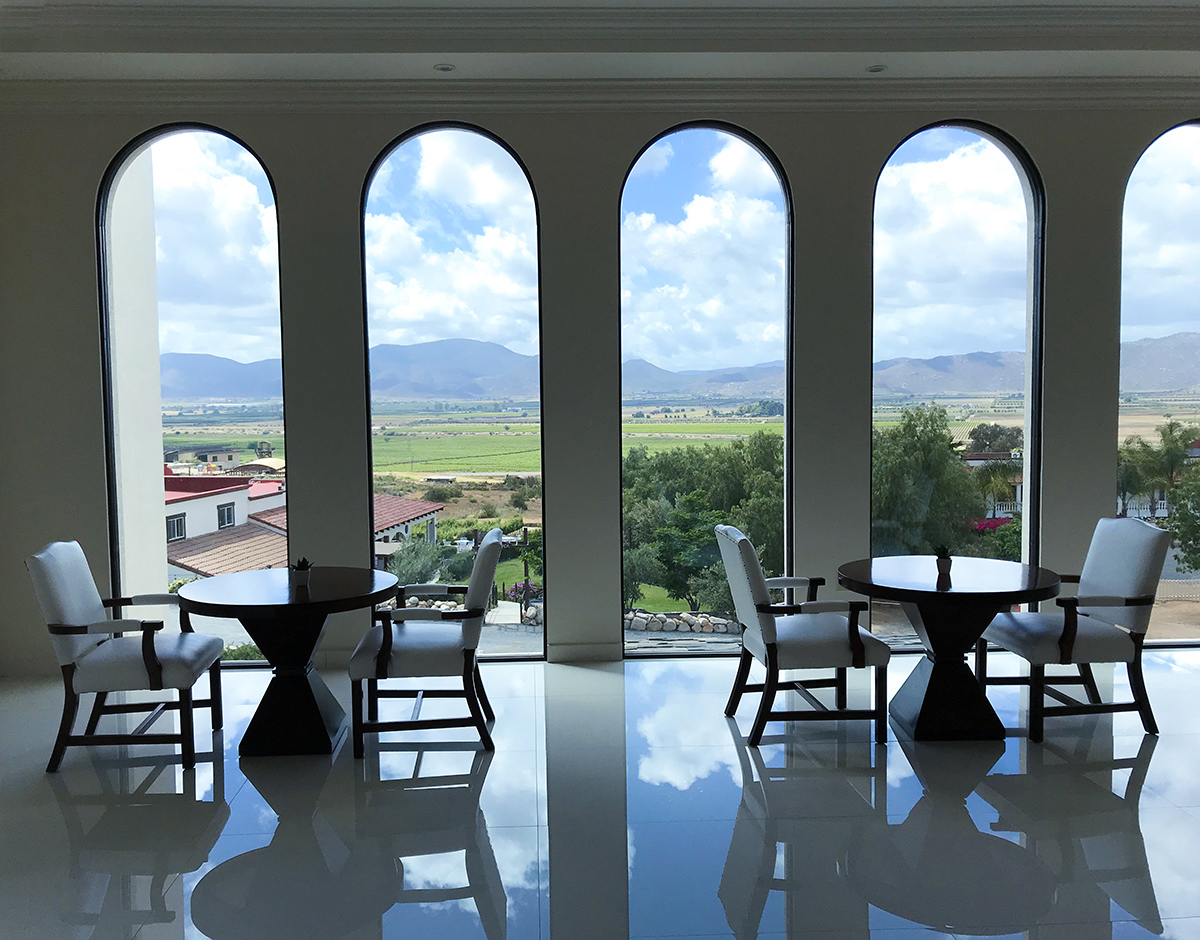 Hacienda Guadalupe's super fancy tasty room, which just opened this spring. A designers wetdream.