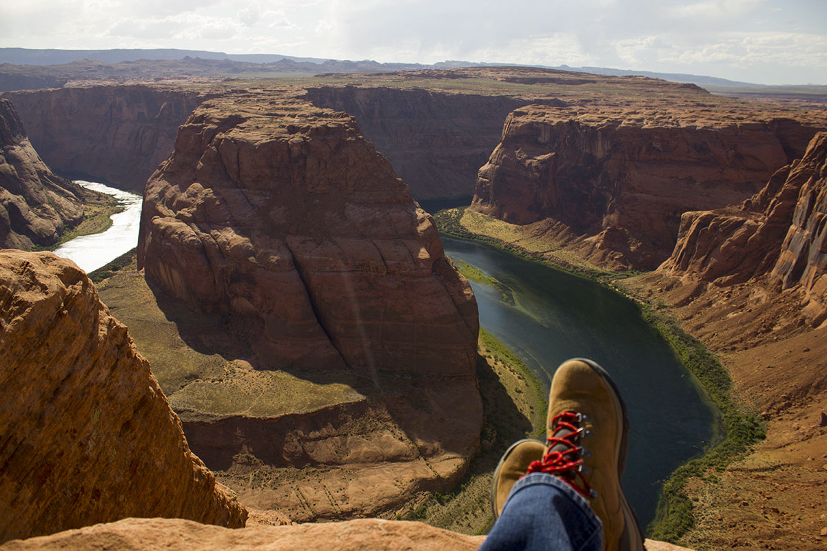 Pre Antelope Canyon hike to  Horseshoe Bend  in Page, AZ.